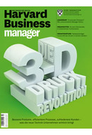 Cover 200px JPG - Harvard Business Manager - aktuelle Ausgabe